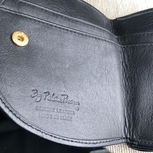 Paloma Picasso Bags - Paloma Picasso Black Leather compact wallet